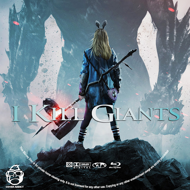 I Kill Giants Bluray Label