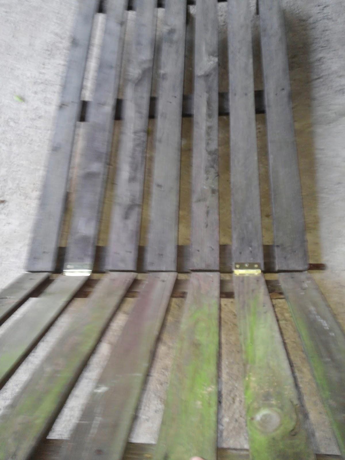 Tumbona con palet doblemente reciclado leroy merlin - Colchones hinchables leroy merlin ...