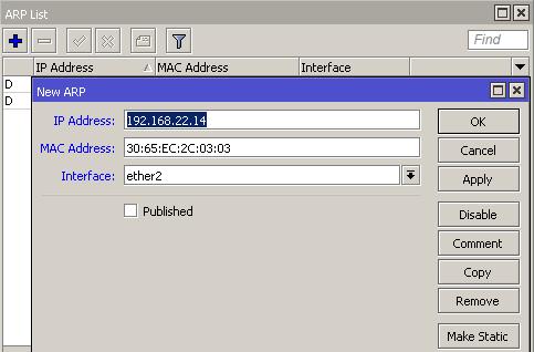 Cara Mengamankan Jaringan Dengan Protokol ARP di Mikrotik