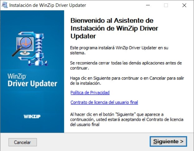 WinZip Driver Updater PC Full imagenes