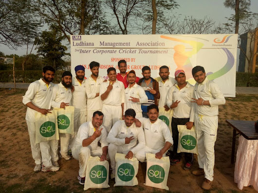 GNA Staff Cricket team won final match of LMA 2nd Inter-Corporate cricket Tournament at Ludhiana.