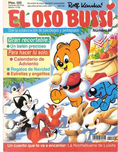 Nadal dibujó a oso Bussi una serie de gran éxito