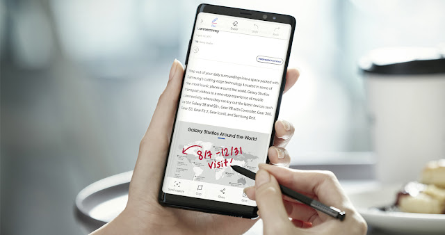 Cara Screenshot pada Samsung Galaxy Note 9 5