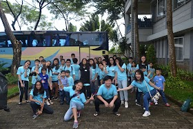 Kegiatan Bina Iman Remaja - ke Panti Asuhan Citra Raya