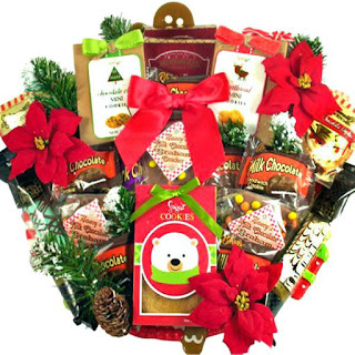 mrs claus christmas cookie basket - Christmas Cookie Baskets