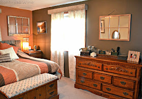 Bonfires And Wine Home Tour Master Bedroom