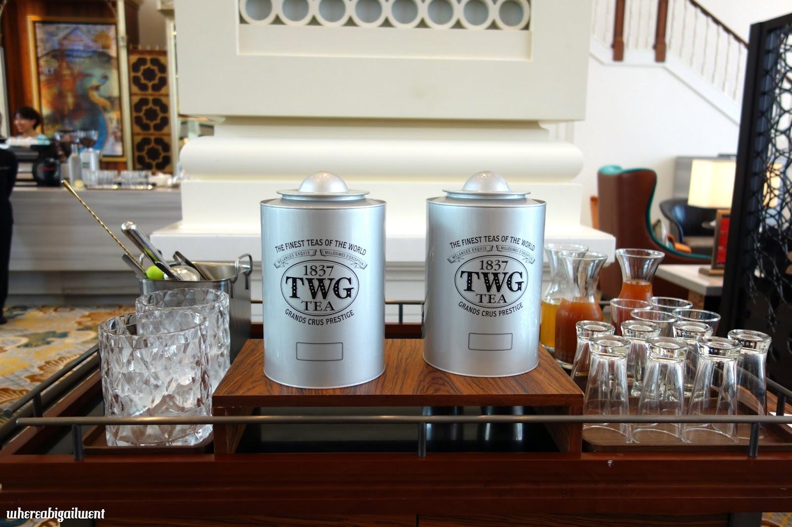 TWG Afternoon Tea Intercontinental Singapore