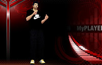 NBA 2K13 Black Casual Clothes