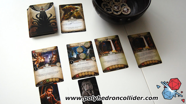 Arkham Horror Card Game LCG review exploration