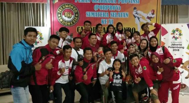 Taekwondo Dongkrak Perolehan Medali PALI