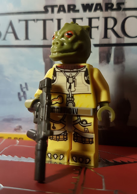 Bossk, bounty hunter, Star Wars