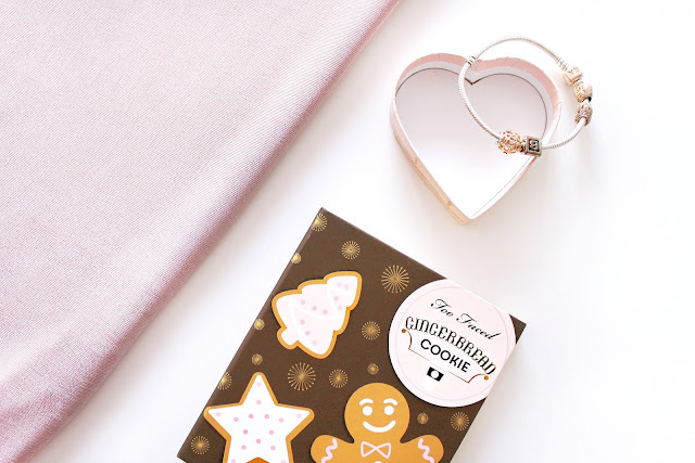 Too Faced Grande Hotel Cafe Gingerbread palette blog giveaway