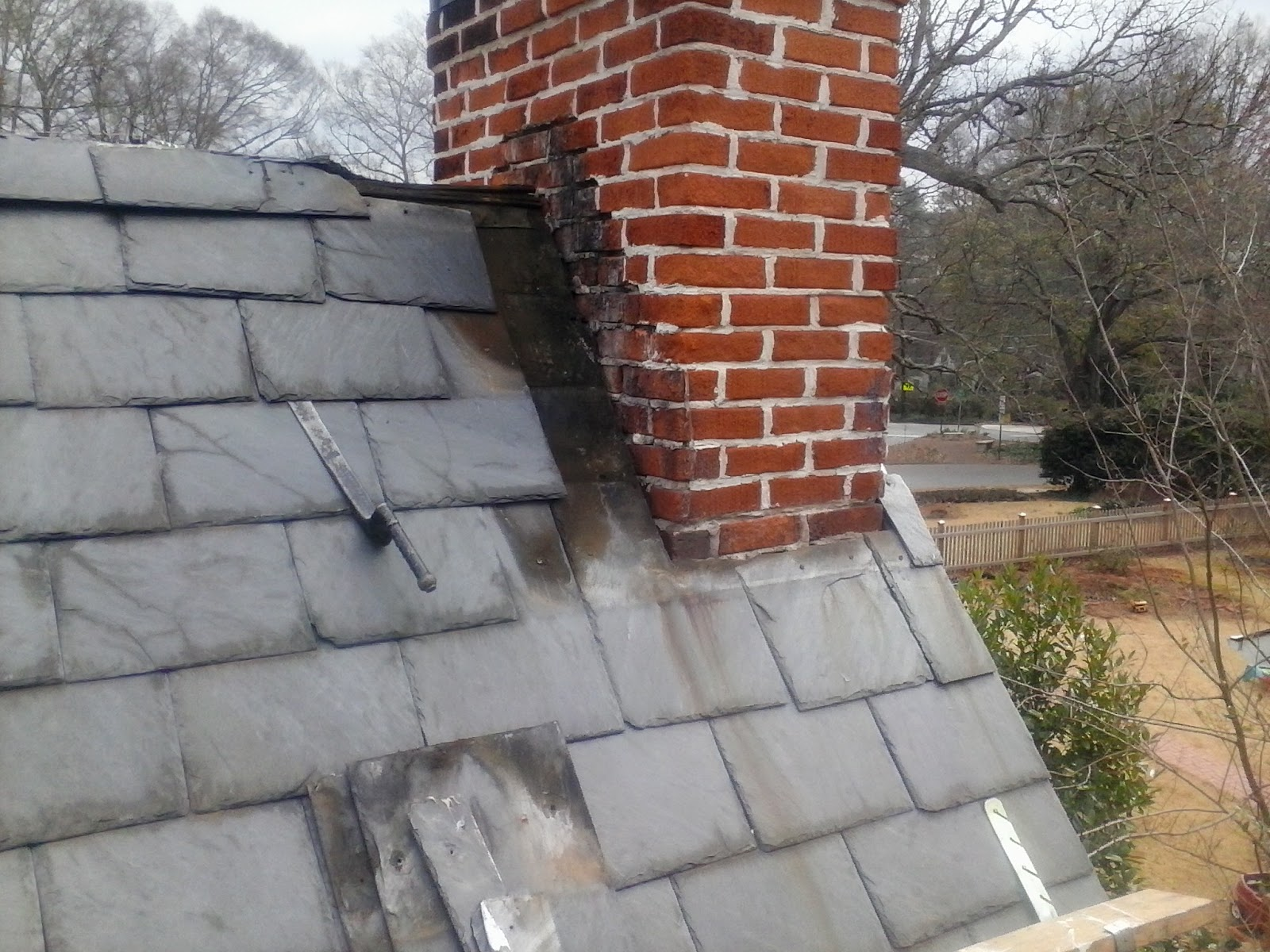 Scottt Morrow Slate Amp Tile Roofing Of Atlanta Chimney