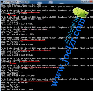 Flashing asus t00q tested
