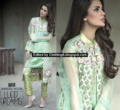 Waseem Noor 2016 Lucid Dreams Formal Dresses