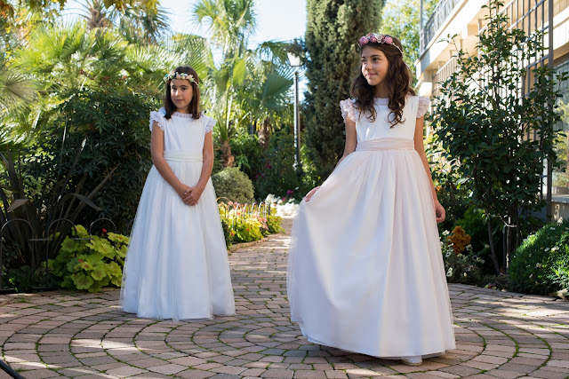 primera comunión 2017 vestidos niña tul trajes niño coronitas invitadas