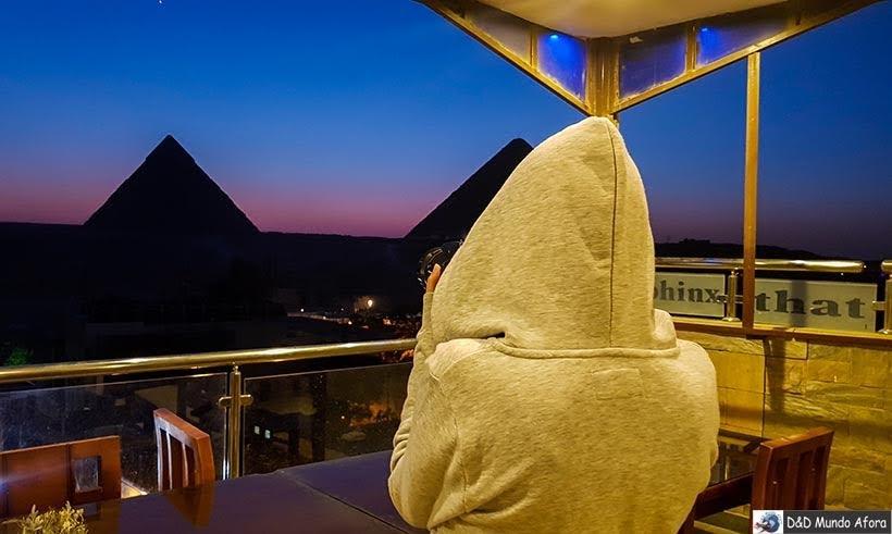 Show de Som e Luzes nas pirâmides de Gizé - Diário de Bordo: 2 dias no Cairo
