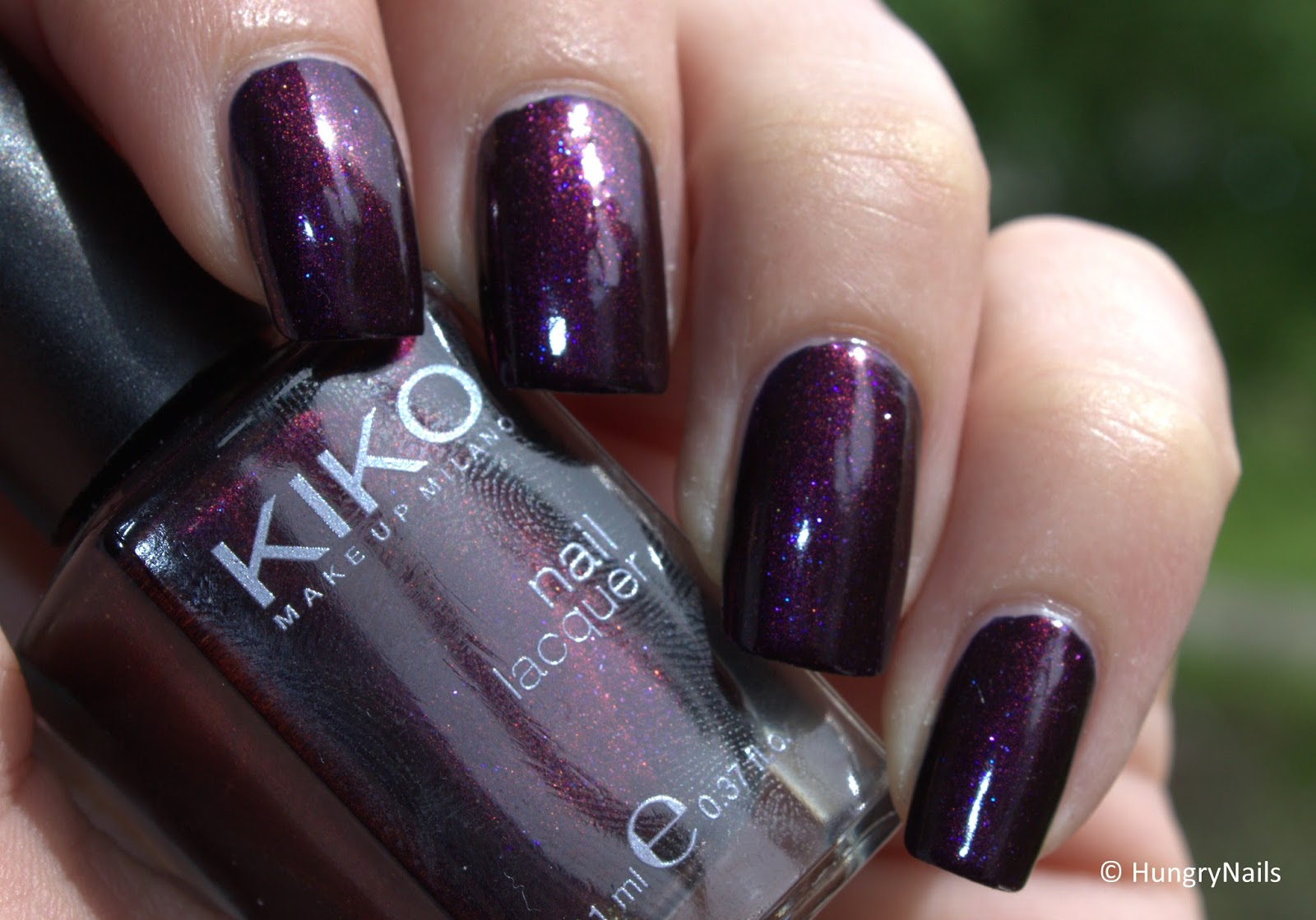 Kiko 497 Pearly Indian Violet - HungryNails Blog | Die bunte Welt ...