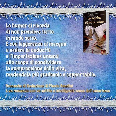 Cronache di redazione di Flavio Gandini