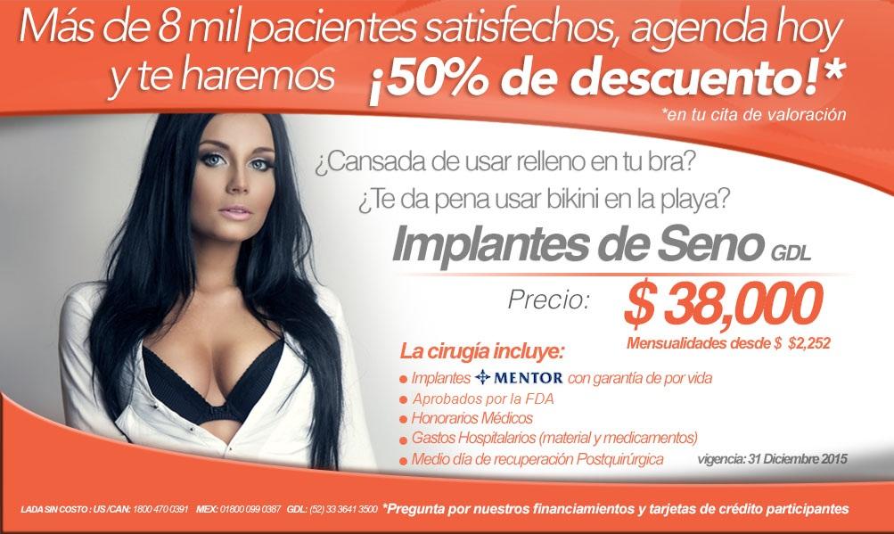 Aumento De Senos Con Implantes En Guadalajara