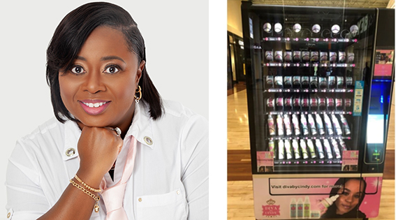 Black Entrepreneur Launches First Ever Natural Hair Care Vending Machine