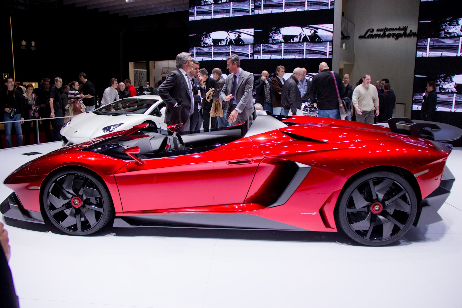 The Lamborghini Aventador J A Car From The Future