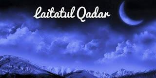 Lailatul qadar terletak di malam 10 trakhir bulan puasa