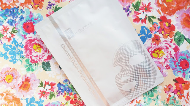 Charcoal Detox Sheet Mask From Timeless Truth Review