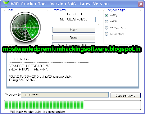 wifi cracker tool version 3.46 full