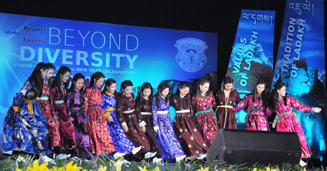 Beyond Diversity Ladakhis celebrate new year in the capital