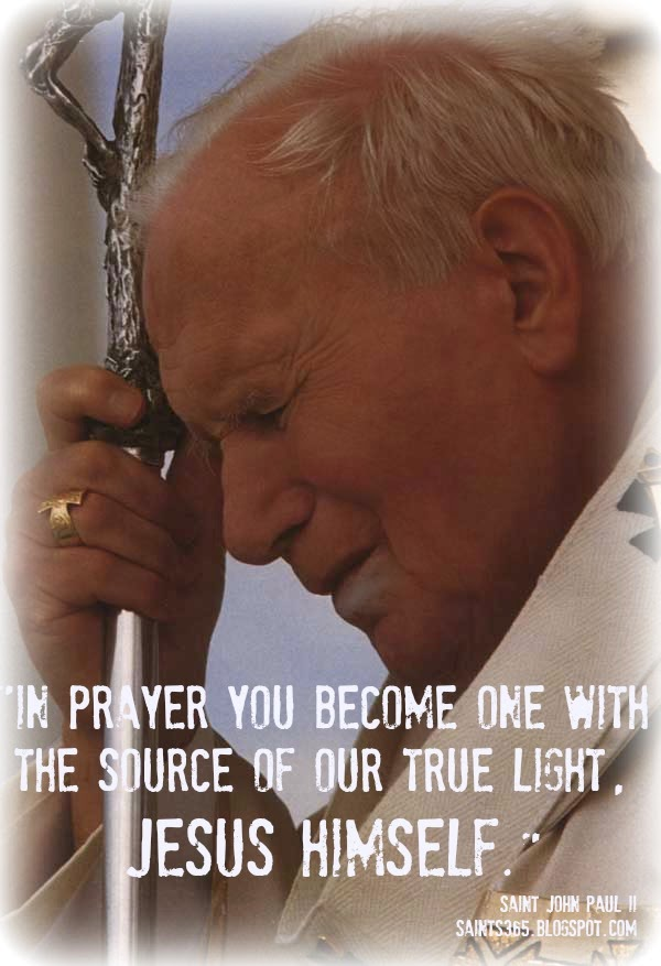 Saints 365 7 Lessons From Pope John Paul Ii