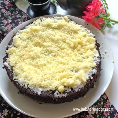 indahprimadona.com, resep brownies ketan hitam, brownies kukus ketan hitam, resep kue brownies ketan hitam, cara memasak brownies ketan hitam enak dan mudah