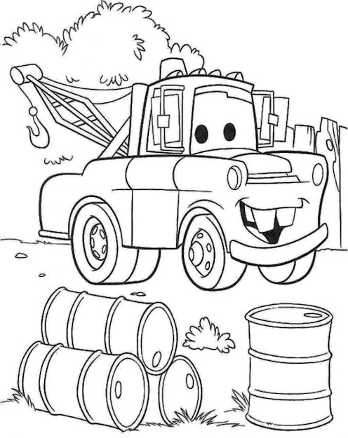 Mater Coloring Pages Lightning Mcqueen Coloring Pages Free Download Mater  Colouring Pictures