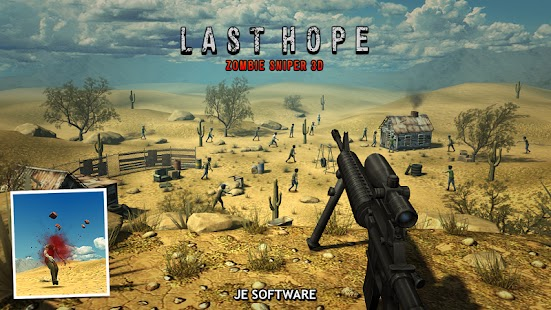 Last Hope – Zombie Sniper 3D Apk Free on Android Game Download