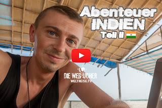 Abenteuer erleben in Indien Goa Betalbatim Majorda Gonsua WELTREISE.TV