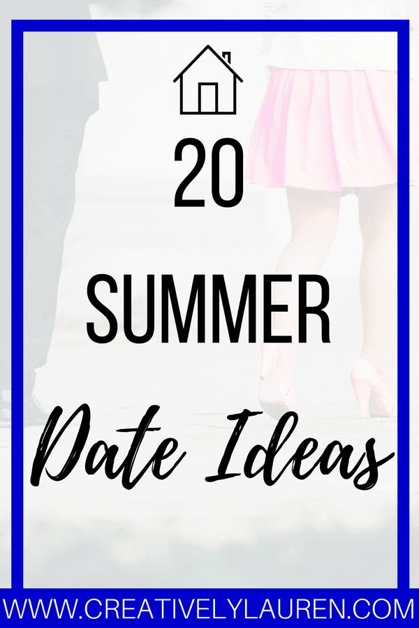 20 Summer Date Ideas