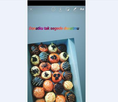 Cara Membuat Tulisan Warna-Warni Di Instagram Story / Snapgram