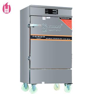 Tủ Nấu Cơm Gas Và Điện có Bảng Điều Khiển cảm ứng 8 Khay –TC8K-GĐB