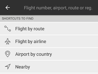 Mencari penerbangan berdasarkan rute, maskapai, bandara dan lokasi di sekitar kita