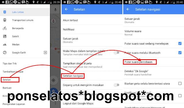 Merubah Google Maps jadi Bahasa Indonesia