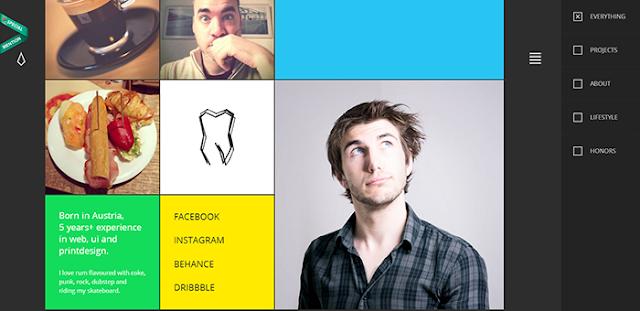 Contoh Desain Web Keren Landing Page