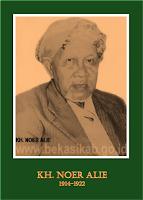 gambar-foto pahlawan nasional indonesia, KH.Noer Alie