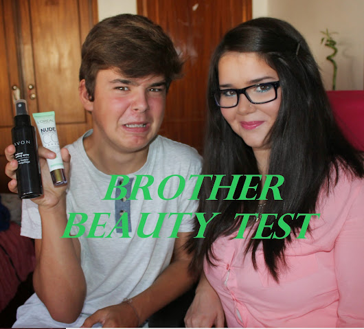 VIDEO | TAG - Brother Beauty Test