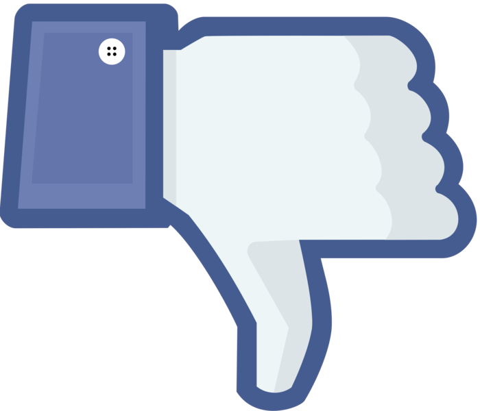 Dislike Button - Image Source: http://upload.wikimedia.org/wikipedia/commons/2/21/Not_facebook_dislike_thumbs_down.png