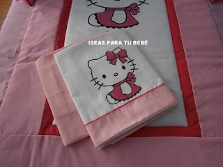 Sabanas cuna hello kitty