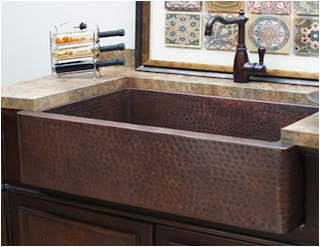 Sierra Copper Farmhouse Sink