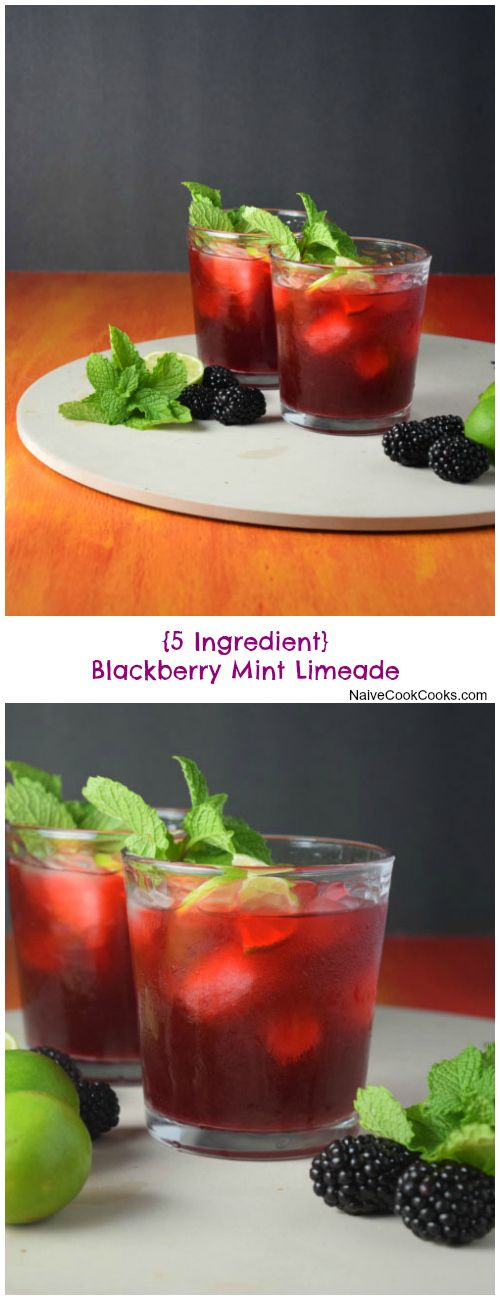 BLACKBERRY MINT LIMEADE