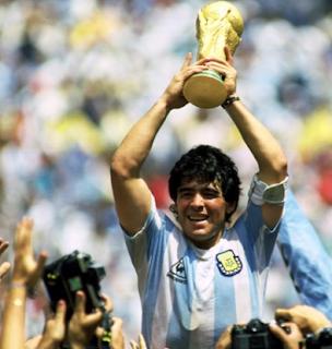 #3. Diego Maradona