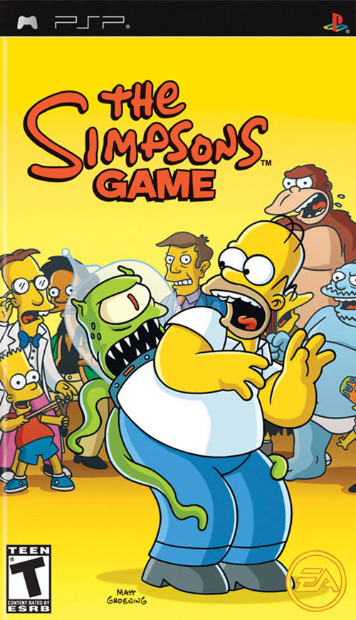 The Simpsons Games Psp Iso