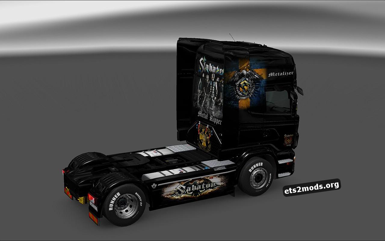 Sabaton Skin for Scania RJL